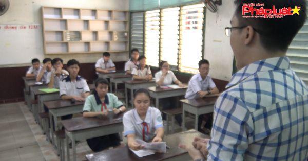 TPHCM: 50% bài thi Toán và tiếng Anh bị dưới 5 điểm