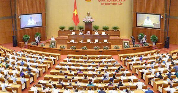 Kỳ họp thứ 7, Quốc hội khóa XIV họp phiên bế mạc