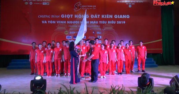 Kiên Giang: Tôn vinh 73 tấm gương hiến máu tình nguyện
