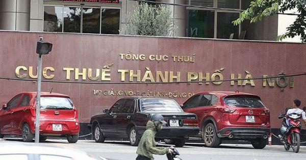 Công khai 194 doanh nghiệp nợ thuế, phí tại Hà Nội