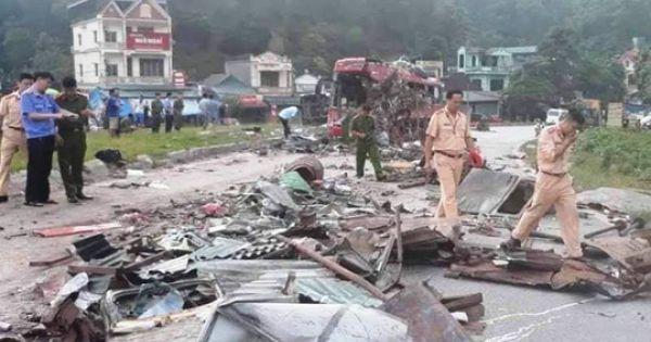 Không có dữ liệu tốc độ xe tải chở sắt trong vụ tai nạn kinh hoàng ở Hòa Bình