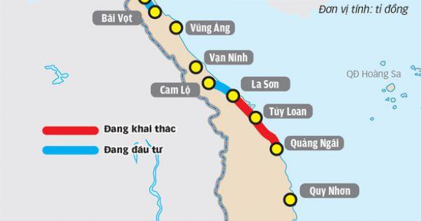 Sơ tuyển nhà thầu 8 dự án cao tốc Bắc - Nam