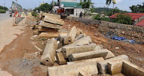 8 năm thi công không xong một tuyến đường dài 2,3km tại Hà Nội