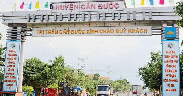 Bí thư huyện Cần Đước bị kỷ luật khiển trách do sai phạm trong quản lý đất dai