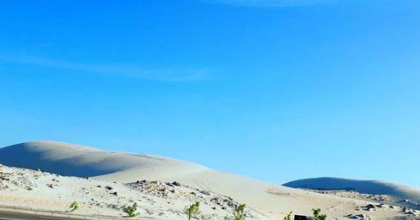 """Khám phá địa điểm Bàu Trắng – nơi được mệnh danh là """"sa mạc Sahara ở Việt Nam"""""""