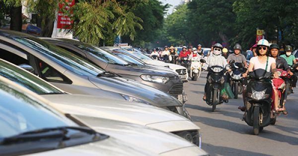 Khuyến khích người dân nội đô Hà Nội làm bãi trông giữ xe