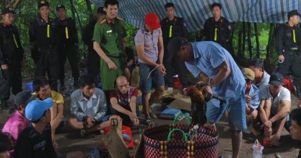 Bộ Công an vây bắt ổ đánh bạc quy mô lớn ở Vĩnh Long