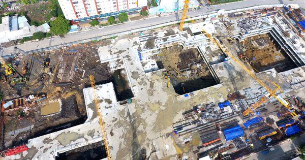 Dự án Laimain City bị xử phạt hành chính do xây dựng không phép tại Q2, TP HCM