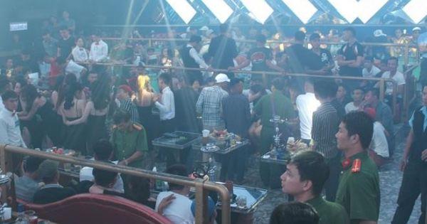 Phát hiện hàng trăm thanh niên chơi ma túy trong quán bar