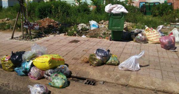 Thừa Thiên - Huế xử phạt tiền người vứt rác ra vỉa hè