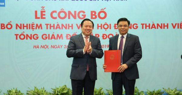 Ông Lê Mạnh Hùng được bổ nhiệm làm Tổng giám đốc Tập đoàn Dầu khí