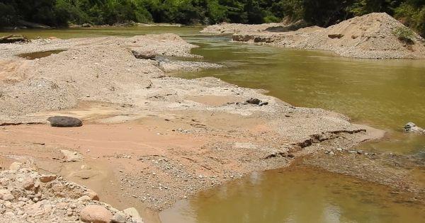 Thừa Thiên - Huế: Huyện A Lưới báo cáo thiếu trung thực vụ lợi dụng thủy điện để khai thác cát lậu