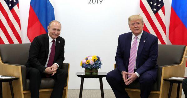 Hai Tổng thống Trump và Putin gặp mặt bên lề G20