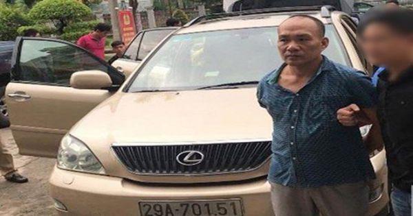 Tổng giám đốc công ty bất động sản đi xe Lexus, trộm cắp tại trụ sở cơ quan nhà nước