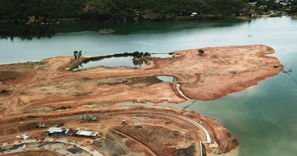 """Đà Nẵng đang kiểm tra thông tin dự án Golden Hills """"đổ đất tràn xuống sông Cu Đê"""""""
