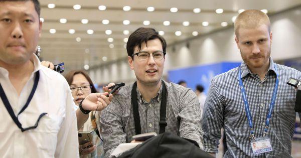 Triều Tiên phóng thích du học sinh người Australia