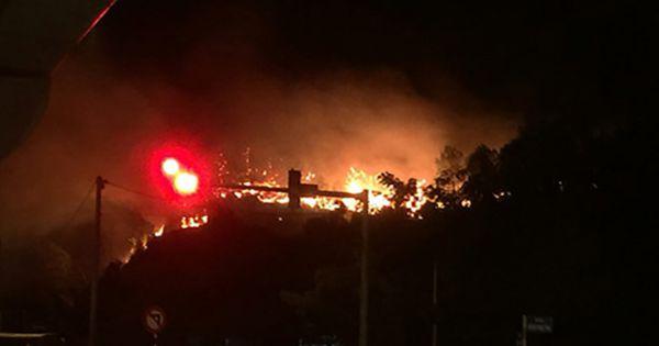 Các tỉnh Trung Bộ trong một tuần xảy ra 45 vụ cháy rừng