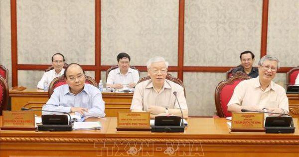 Tổng Bí thư, Chủ tịch nước chủ trì họp Bộ Chính trị