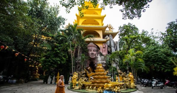 """Ngôi chùa đá """"năm không"""" ở Sài Gòn"""