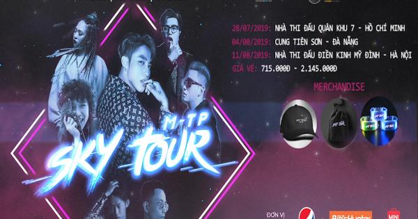 """Sơn Tùng M-TP mời dàn nghệ sĩ Underground khủng trong """"SKY TOUR 2019"""""""