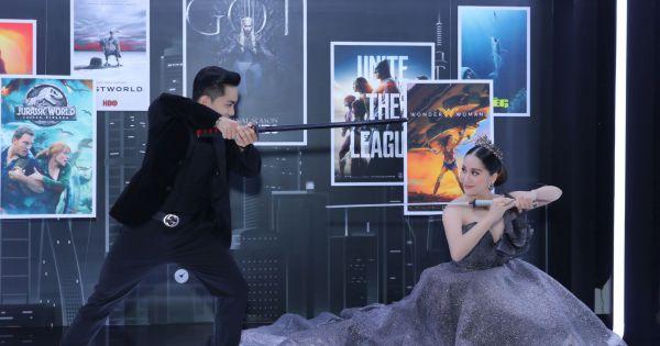 Dancesport Khánh Thi và Phan Hiển cùng đấu kiếm trong trang phục cưới