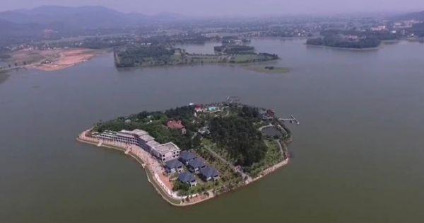 """Vĩnh Phúc: """"Hợp thức hóa"""" cho sai phạm của chủ đầu tư KDL Đảo Ngọc"""