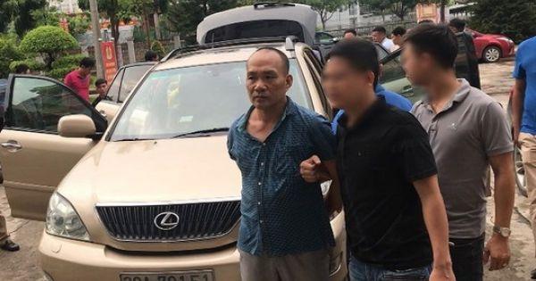 Khởi tố Tổng giám đốc công ty bất động sản lái xe Lexus đi trộm tài sản