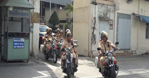TPHCM: Nhiều tài xế bị xử phạt trong ngày đầu ra quân tổng kiểm tra xe vi phạm