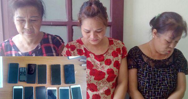 """Sầm Sơn: Bắt giữ nhóm """" nữ quái"""" chuyên trộm cắp tài sản khách du lịch"""