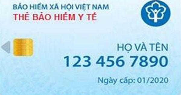 Sẽ sử dụng thẻ bảo hiểm điện tử từ tháng 1/2020
