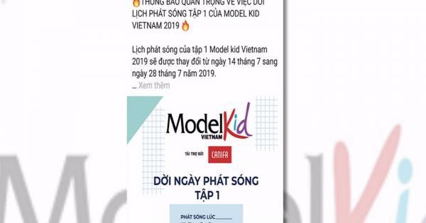 """Tác giả chương trình Người mẫu nhí Việt Nam – Model kid Vietnam tố cáo bị """"ăn cắp"""" bản quyền"""