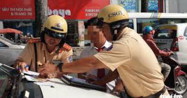Từ 15/7, CSGT kiểm tra tất cả các xe trên đường trong 1 tháng