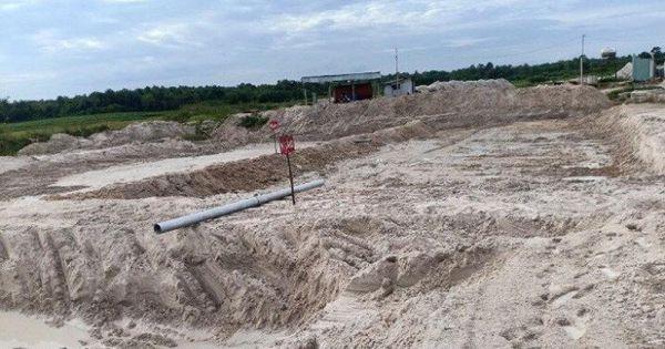 Công ty Liên Hoàng bất chấp lệnh cấm ngang nhiên hút cát hồ Dầu Tiếng