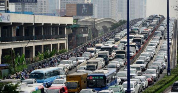 Sở GTVT đề xuất chi 250 tỉ đồng lắp 34 cổng thu phí ô tô vào trung tâm