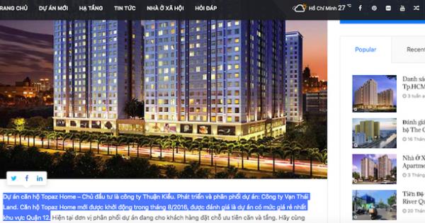 TPHCM: Phạt chủ đầu tư vì chưa nghiệm thu đã bàn giao cho khách