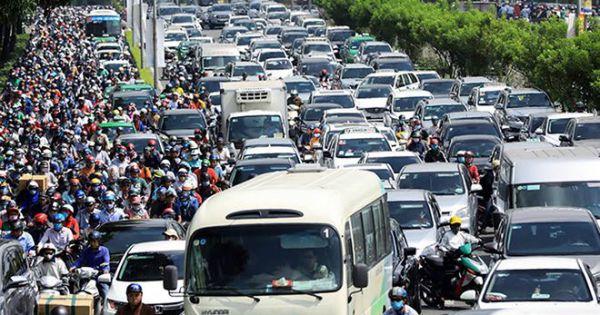 TPHCM: Thu phí ôtô vào trung tâm vì kẹt xe nghiêm trọng