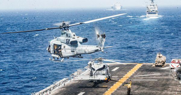 Tổng thống MỹDonald Trump: Mỹ bắn hạ UAV Iran ngoài khơi eo Hormuz