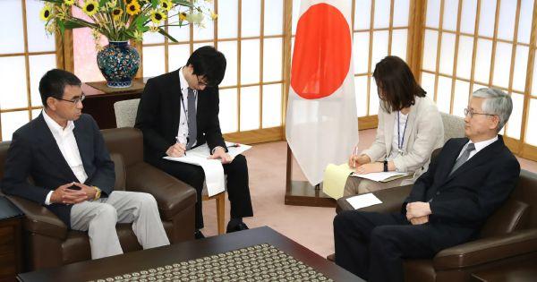 """Mâu thuẫn Nhật-Hàn: Nhật Bản tuyên bố sẵn sàng """"hành động"""""""