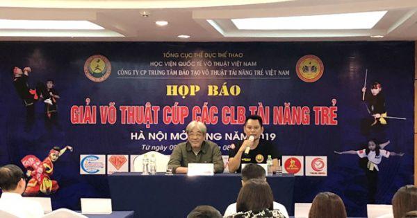 1.600 VĐV tranh giải Võ thuật Cup các CLB Tài năng trẻ Việt Nam - Hà Nội