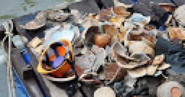 Khai quật tàu cổ đắm ở Dung Quất, thu gần 10.000 mảnh vỡ