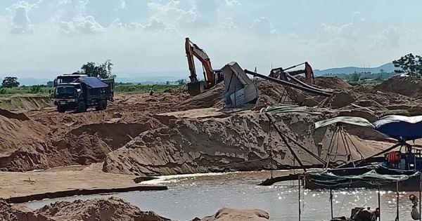 Phú Yên: Lập đoàn kiểm tra vụ DN cản trở thi công dự án kè sông Ba