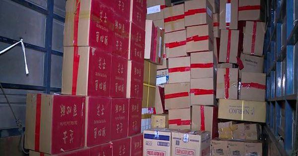 Hà Nội: Bắt giữ hơn 4000 chiếc bánh trung thu nhập lậu từ Trung Quốc