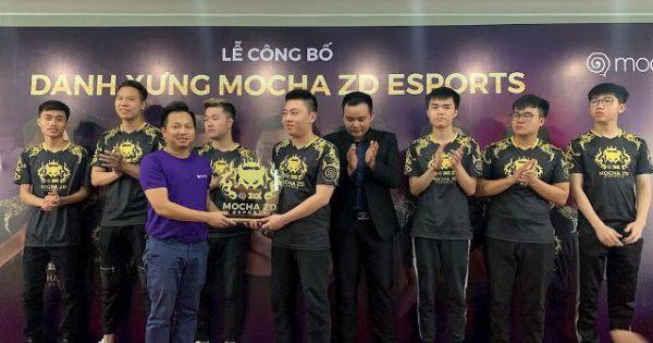 Ra mắt đội hình Mocha ZD eSports