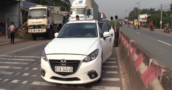 Tài xế xe ô tô sử dụng ma tuý lái xe bỏ chạy gần 40km khi bị CSGT phát hiện.