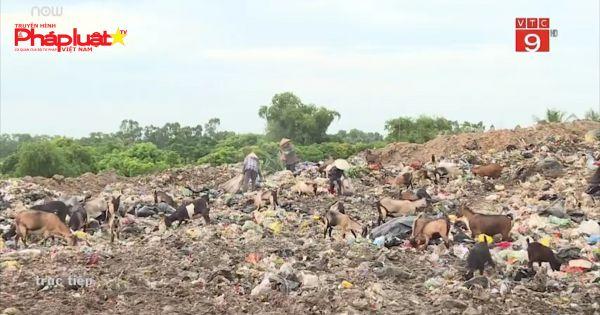 Sầm Sơn: Bãi rác quá tải gây ô nhiễm môi trường