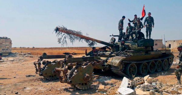 Syria: Quân chính phủ tái chiếm thành công Khan Sheikhoun từ tay phiến quân