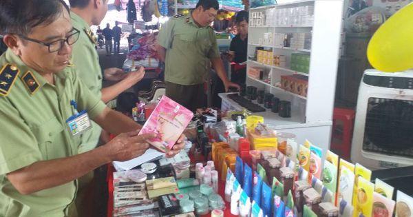 Bạc Liêu: Tạm giữ nhiều lô hàng vi phạm tại Hội chợ triển lãm