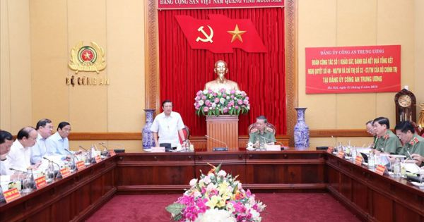 Trưởng Ban Nội chính Trung ương: Chống oan sai đi liền với chống bỏ lọt tội phạm
