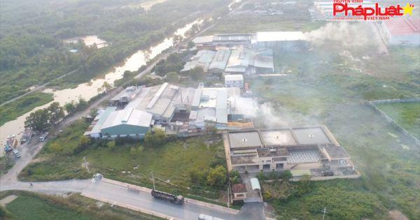 Tây Ninh: Phạt Cty TNHH Tiến Thành 80 triệu vì xả khí thải nguy hại ra môi trường