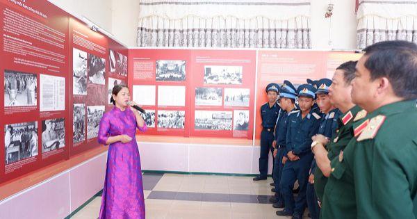 Khai mạc triển lãm tài liệu, hiện vật 50 năm thực hiện Di chúc Bác Hồ tại Đà Nẵng